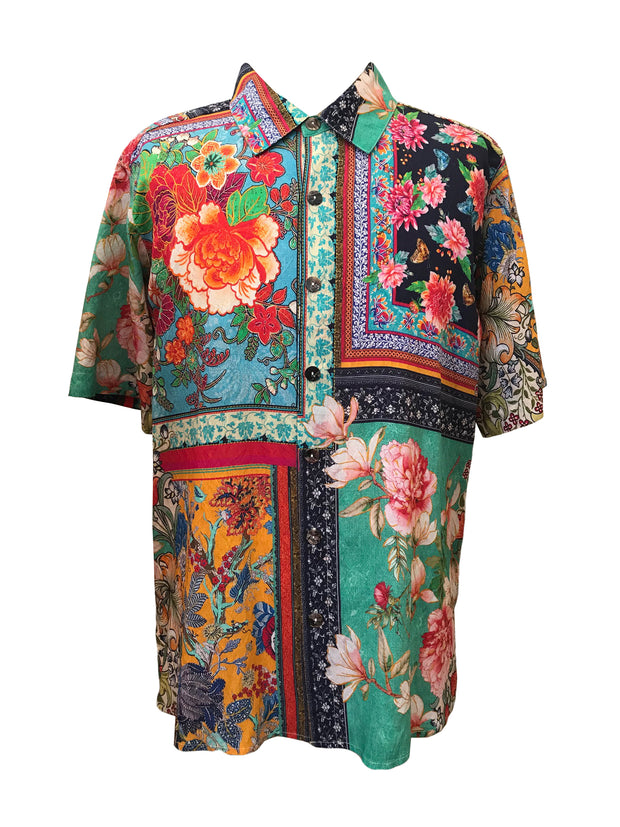 Floral Patch Men's Shirt