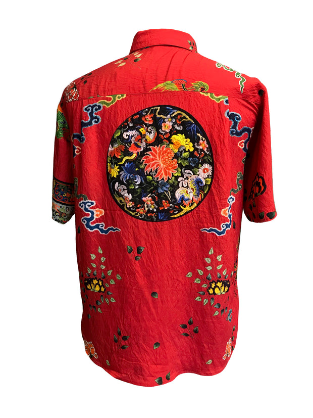 Phoenix Medallion Border Men's Shirt