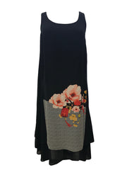 Double Layered Tank Dress