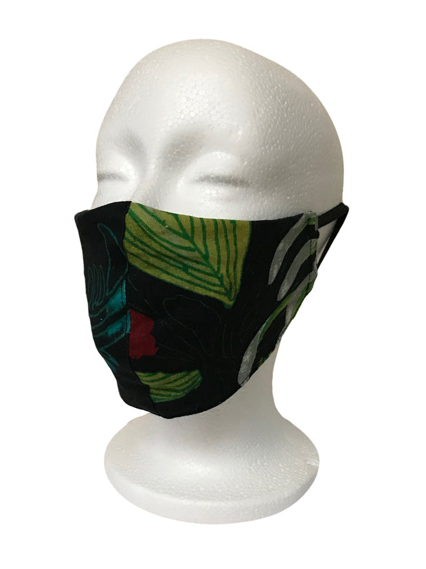 Citron Original Print Linen Face Mask