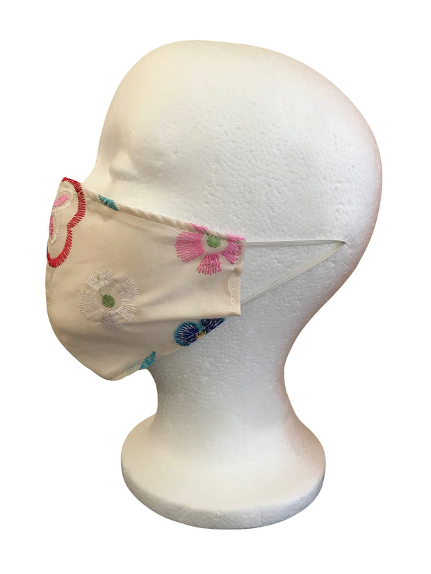 Cotton Embroidery Mask