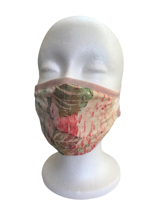 Citron Original Print Silk Mask