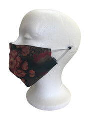 Original Print Silk Mask