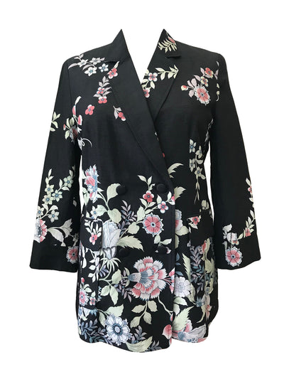 Fully Lined Silk Jacket