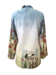 One of a Kind Classic Silk Tunic