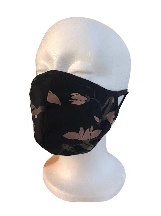 Citron Original Print Silk Face Mask