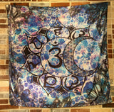 Sun And Moon Lotus Chakras Tapestry