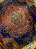 Atomic Circuit Sacred Geometry Tapestry