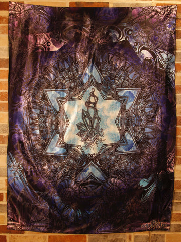 Sacred Geometry Tapestry Crystal Ratio