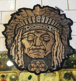 Native Chief Large Stash Patch - Enlighten Clothing Co.