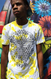 Bee Alive Yellow Tye Dye Tee Shirt