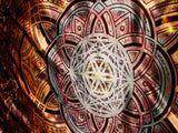 Cubular Sacred Geometry Seed Of Life Tapestry