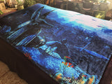Anubis Fleece Blanket