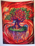 Meditation Tapestry Ascension