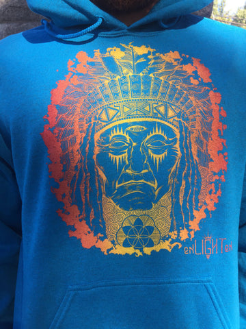 Hoodie Native Chief Sacred Geometry Clothing