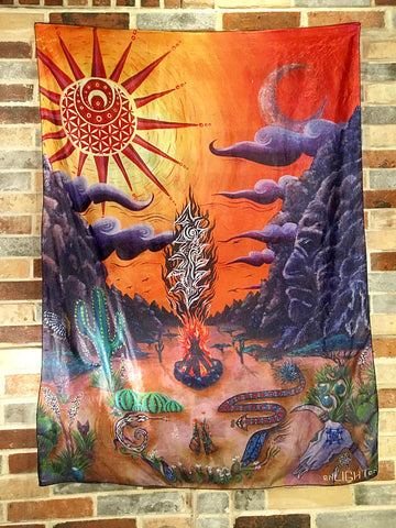 El Paso Grateful Dead Steal Your Face Tapestry