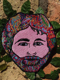 Brent Mydland Grateful Dead Patch By Melanie Bodnar - Enlighten Clothing Co.