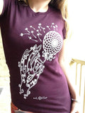 Dandelion Shirt Design Hand Drawn By Melanie Bodnar