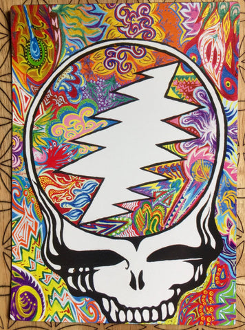 Grateful Dead Steal Your Face Magnet