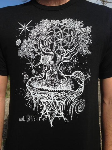 Ascension Organic Bamboo T-Shirt - Enlighten Clothing Co.