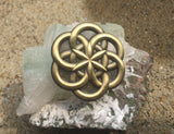 Atom Seed Of Life Lapel Pin - Enlighten Clothing Co.