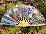 Tarot Card Giant Bamboo Fan - Enlighten Clothing Co.