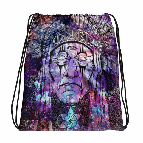 Native Chief Drawstring bag