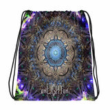 Cubular Drawstring bag - Enlighten Clothing Co.