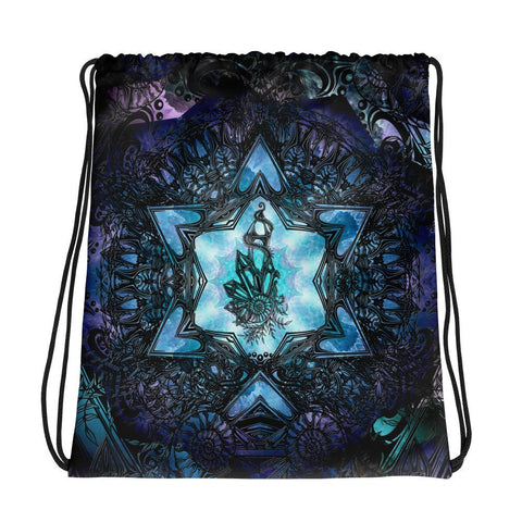 Crystal Ratio Drawstring bag - Enlighten Clothing Co.