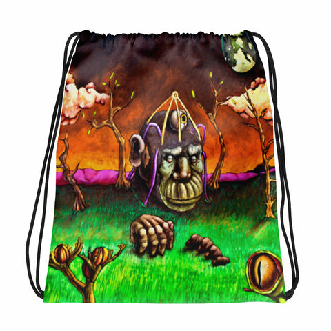 Emergence Drawstring bag