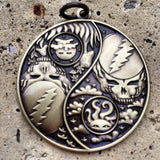 Night And Day Stealy Yin Yang Pendants