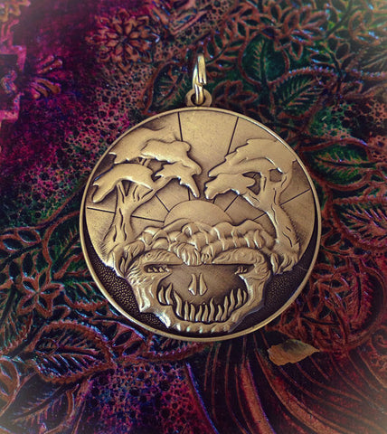 Sunshine daydream pendant. Design Hand Drawn By Melanie Bodnar.
