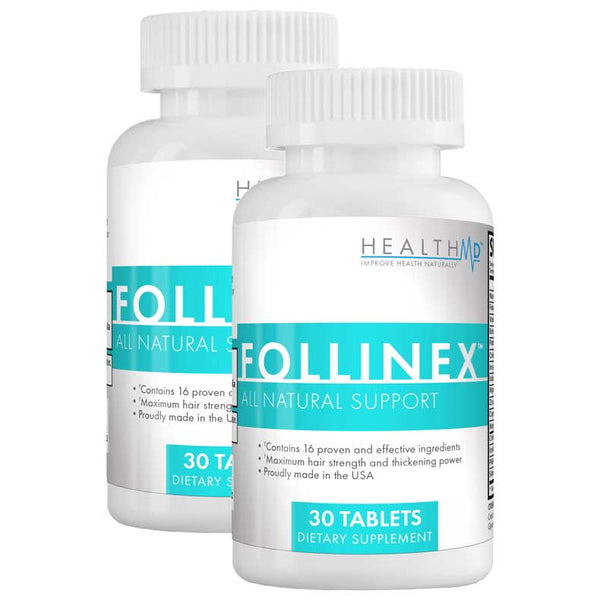 Follinex - Stop Hair Loss & Grow New Hair Fast!