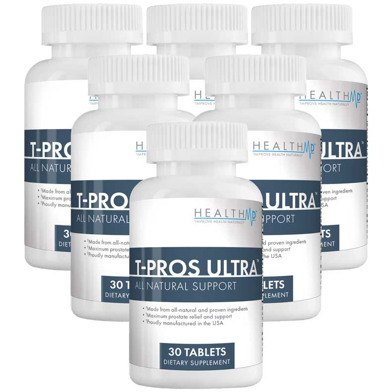 T•Pros Ultra - The Most Effective Prostate Relief Available