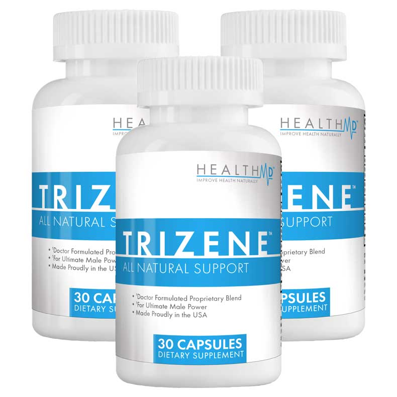 Trizene - America's #1 Natural Answer to ED & Virility