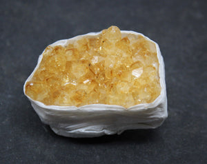 Small Citrine Cluster