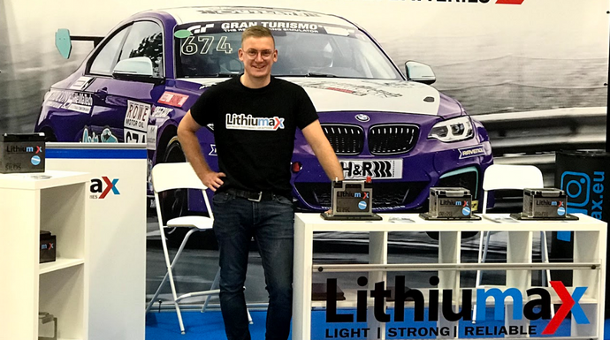 Lithiumax @MotorSport World Expo 2019 in Köln