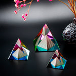 3D Crystal Pyramid