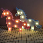 Gorgeous 3D Unicorn LED Lamp