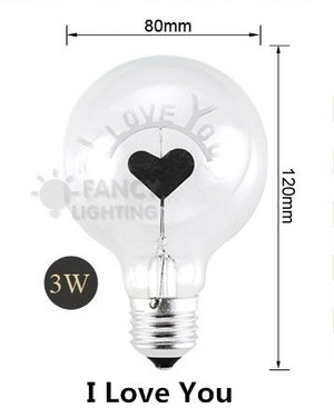 Bulov™ - Love and Flowers Light Bulbs
