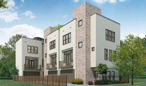 3 1/2 Story Townhouse with Roof Deck - Floor Plans