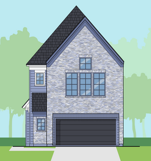 Midsize Townhouse Floor Plan for Sale