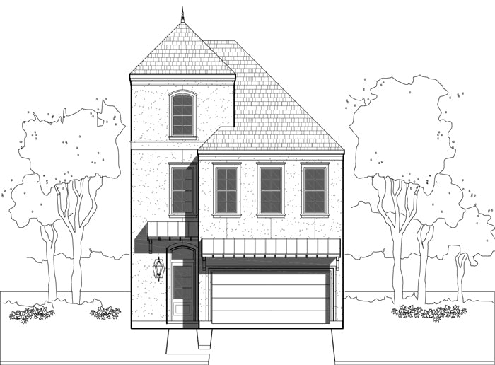 Townhouse Plan E0108 A1.1