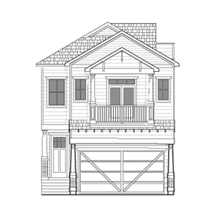 Townhouse Plan E1035