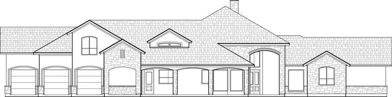 Two Story House Plan C6233