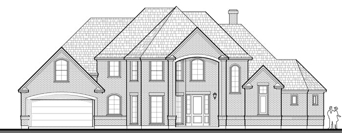 Two Story House Plan D4139