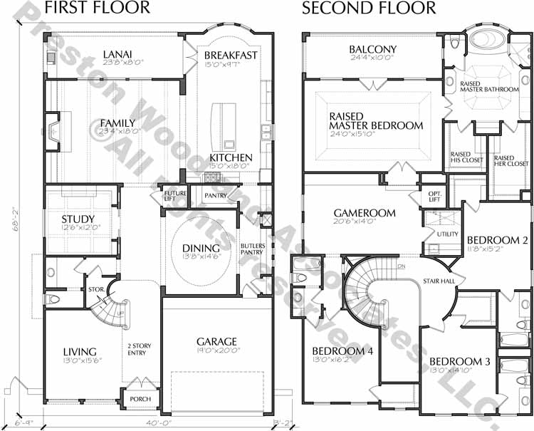 Urban House Plan D4280