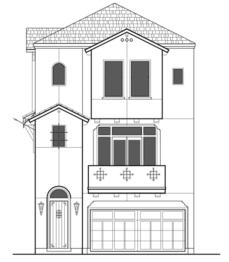 Townhouse Plan E2036 B2.1