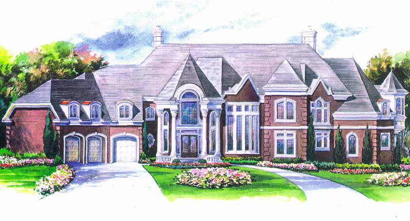 Two Story House Plan C2079