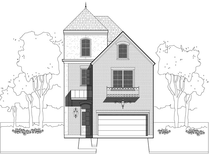 Townhouse Plan E0108 A1.2